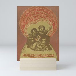 old placard jeremy steig and the satyrs sons of Mini Art Print