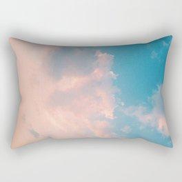 Cloudy With A Chance Rectangular Pillow