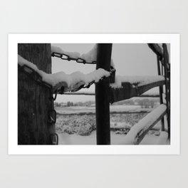 Crisp Winter Art Print