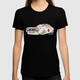 Crazy Car Art 0162 T-shirt