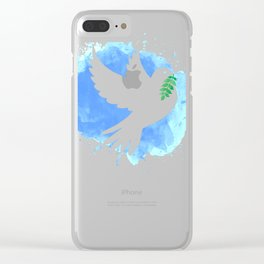 Peace Clear iPhone Case