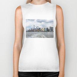 NYC Skyline 2017 Biker Tank