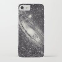 astronomy iPhone & iPod Cases featuring Vintage Astronomy-Nebula M31 Andromeda by lacelace