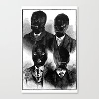 bdsm Canvas Prints featuring BDSM  by DIVIDUS