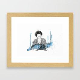 Beirut Portrait Framed Art Print