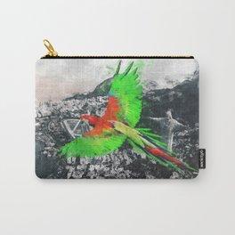 Parrot over the Rio de Janeiro Carry-All Pouch