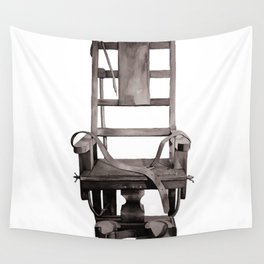 Electric Chair  Wall Tapestry