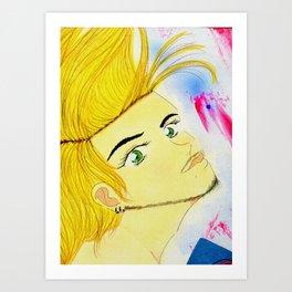 Torrence Tips Art Print
