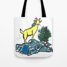 Goatie McGoatersons (colored version) Tote Bag