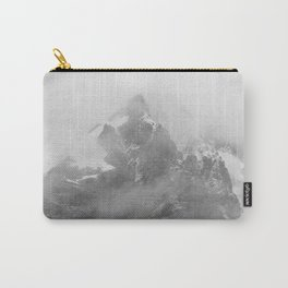 Rocky Mountain Fog B&W Carry-All Pouch