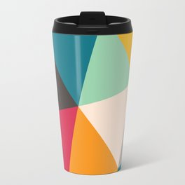 Geometric Triangles Travel Mug
