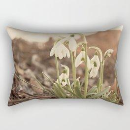 Snowdrop Rectangular Pillow