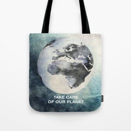 Take care of our planet #2 Tote Bag