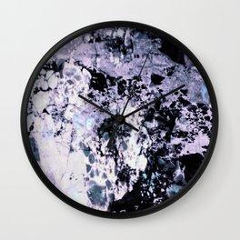 Moody Marble Wall Clock