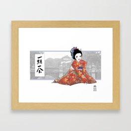 ichi-go ichi e Framed Art Print