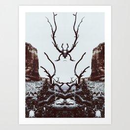 : canyon spirit : Art Print