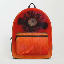 Floating poppy Backpack