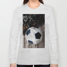 The soccer ball Long Sleeve T-shirt