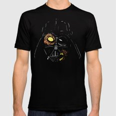 Darth Vader Zombie LARGE Black Mens Fitted Tee