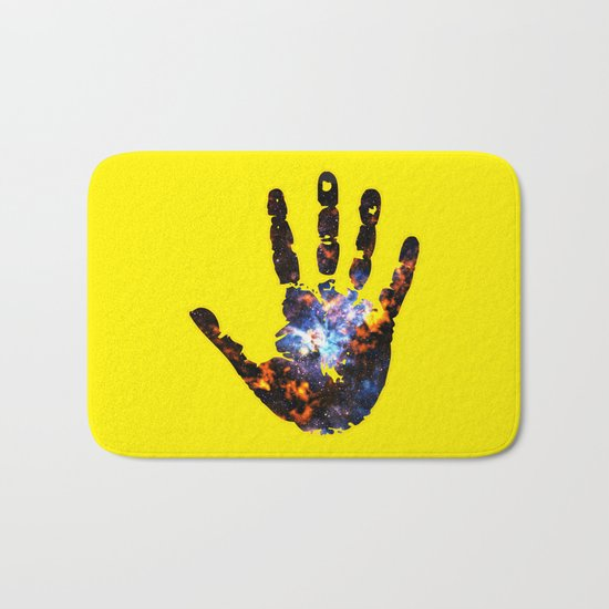 Hand of the Universe Bath Mat