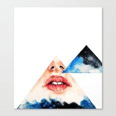 Lipss Canvas Print
