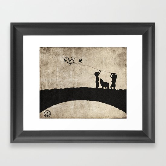 retaliation Framed Art Print