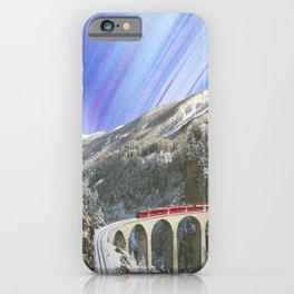 trains iPhone Case
