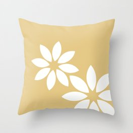 Flora2 Throw Pillow