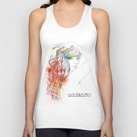 rogue Tank Tops featuring Rogue by Mariano Daniel