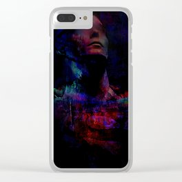 The lone hero Clear iPhone Case