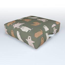 Bear Yoga Outdoor Floor Cushion