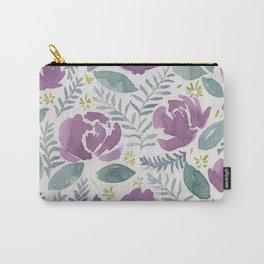 flores violetas Carry-All Pouch