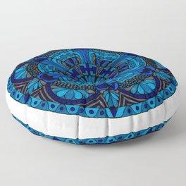 Mandala Ocean Floor Pillow