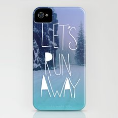 Let's Run Away: Rainier National Forest, Oregon Slim Case iPhone (4, 4s)
