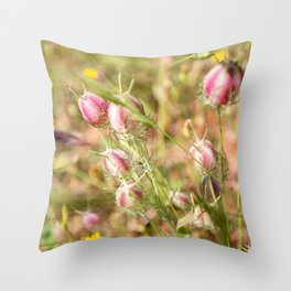 Pretty Nigella Throw Pillow