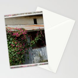 RUSTIC FRONT PORCH IN NEPALI BLOOM Stationery Cards