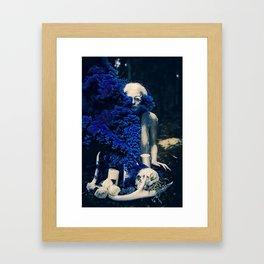 Vampire Flower (Edit 4) Framed Art Print