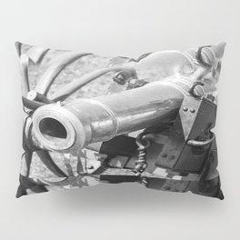 The cannon (black & white version) Pillow Sham