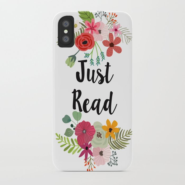 Just Read iPhone Case
