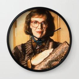 LOG LADY Wall Clock