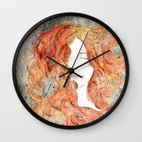perfume Wall Clocks featuring Perfume #1 by Dao Linh
