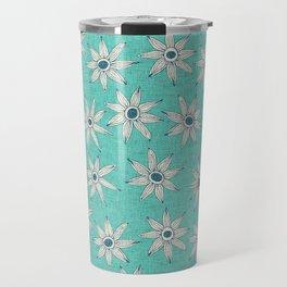 sema mint blue Travel Mug