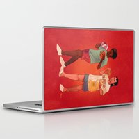 pulp Laptop & iPad Skins featuring Pulp Fiction by Dave Collinson