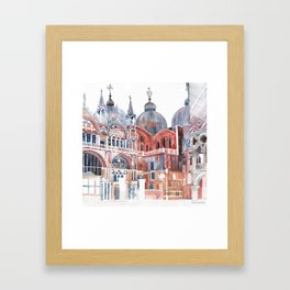 Basilica San Marco, Venezia Framed Art Print
