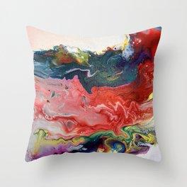 Chaotic Chakra Throw Pillow