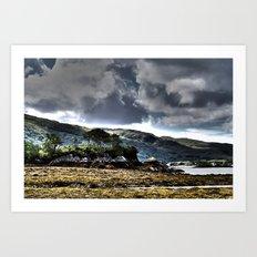 Loch Ailort, Scotland Art Print