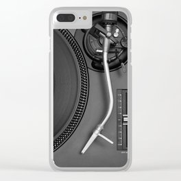 vinyl player Clear iPhone Case