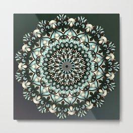 Castille Mandala Metal Print