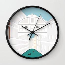 Bridge of Sighs, Venice, Italy Wall Clock