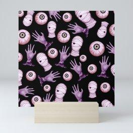 spooky pattern Mini Art Print
